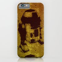 iPhone & iPod Case featuring Star Wars: Pop Art Hot R2D2 by InvaderDig