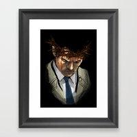 Martyr Framed Art Print