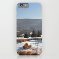 iPhone & iPod Case featuring Winter Snow Scene Landscape Photo by Michael Weitsen
