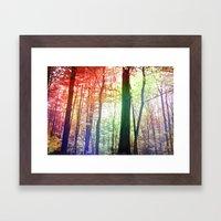 Forest Friends 2.0 Framed Art Print