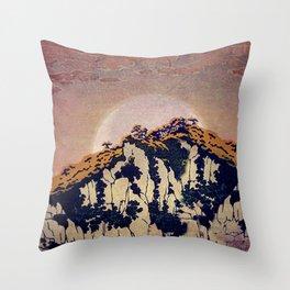 Throw Pillow - Guiding me across Nobe - Kijiermono