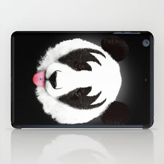 Kiss of a panda iPad Case
