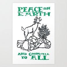 Peace on earth 2014 II Art Print