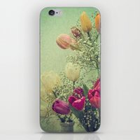 Vintage French Tulips --… iPhone & iPod Skin