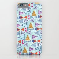 Geometric Mid Century Modern Triangles 2 iPhone 6 Slim Case