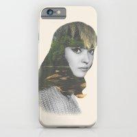iPhone & iPod Case featuring Anna Karina Nature Portrait by TigerWolf