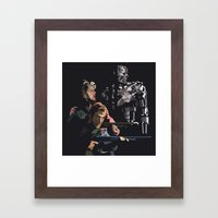 Targeted For Termination… Framed Art Print