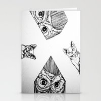 Night Watchers Stationery Cards