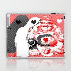 Love buddha Laptop & iPad Skin