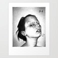 THE SPACEINVADERS 3# Art Print