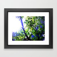 Bright Sky Framed Art Print