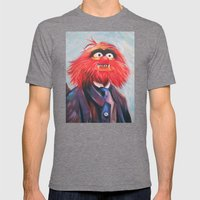 Portrait Of An Animal Mens Fitted Tee Tri-Grey SMALL
