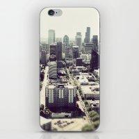 downtown seattle iPhone & iPod Skin