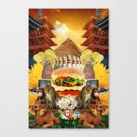 Pyro Canvas Print