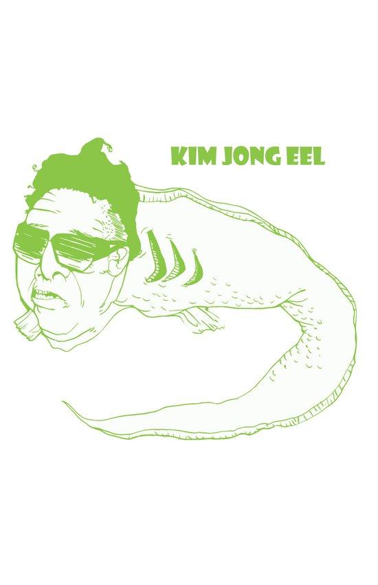 Kim Jong Eel Art Print