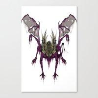 Gaping Dragon (Dark Souls) Canvas Print