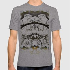 Treeflection VII Mens Fitted Tee Tri-Grey SMALL