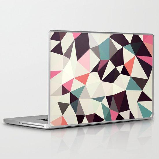 Retro Tris Light Laptop & iPad Skin