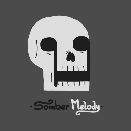 Somber Melody Canvas Print