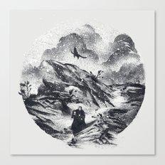 Follow The Raven Canvas Print
