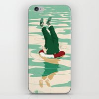 When Helping Goes Bad iPhone & iPod Skin