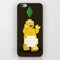 I Want To Brick Free ! iPhone & iPod Skin