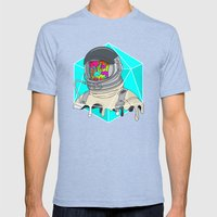 Psychonaut - Light Mens Fitted Tee Tri-Blue SMALL
