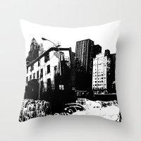 GRIND Throw Pillow