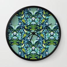 Ambrosia Blue Wall Clock
