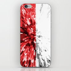 Poland Flag - Extrude iPhone & iPod Skin