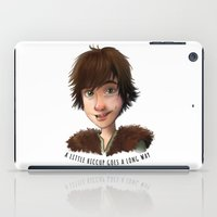 A little Hiccup goes a long way iPad Case
