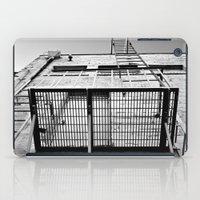 Back alley balcony iPad Case