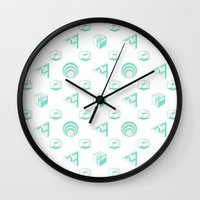 Grand Illusions Wall Clock