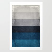 Greece Hues Art Print