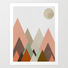nova moon  Art Print