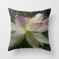 Lotus flower 2 Throw Pillow