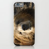 iPhone & iPod Case featuring A big sad Teddy Bear by Wood-n-Images