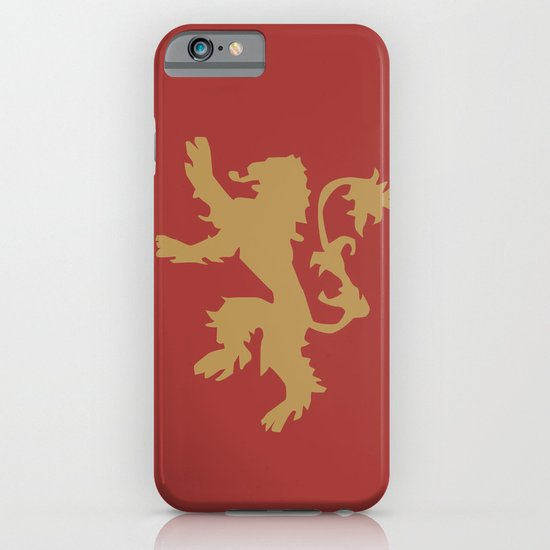House Lannister - Game of Thrones iPhone & iPod Case