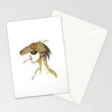 The Masquerade:  The Iguana Stationery Cards