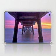 Deal Pier At Sunrise Laptop & iPad Skin