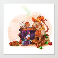 Caramel Witches Brew Canvas Print
