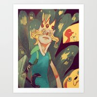 Finn The Human Art Print