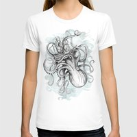sea T-shirts featuring The Baltic Sea by David Fleck