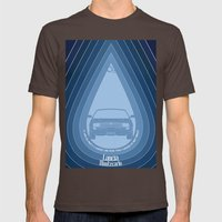 Lancia Montecarlo Mens Fitted Tee Brown SMALL