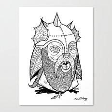 Warrior's Decapitated Head Canvas Print