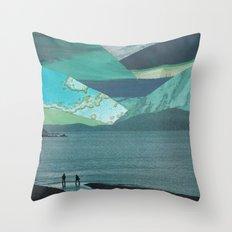 Journey To Aquatopia Throw Pillow