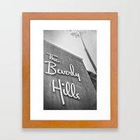 The Beverly Hills Hotel Framed Art Print