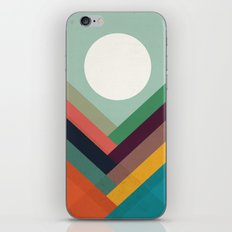Rows of valleys iPhone & iPod Skin