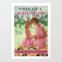 1964 - 99th Anniversary Sale Catalog Cover Art Print