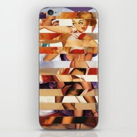 Glitch Pin-Up Redux: Amb… iPhone & iPod Skin